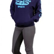 Capaillíní Equestrian Collection - Equestrian Sports Hoodie blue