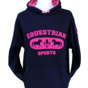 Capaillíní Equestrian Collection - Equestrian Sports Hoodie pink