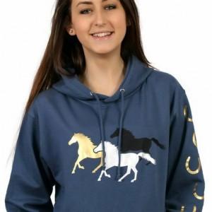 Horse Hoodie - Galloping Horses