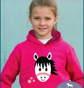 Girls Cute Pony Hoodie