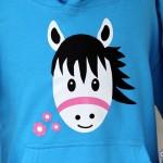 Cute Pony Hoodie blue