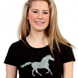 Capaillíní Equestrian Collection- Glitter Horse T-Shirt