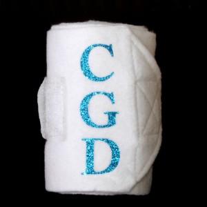 Monogrammed Fleece Bandages