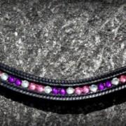 Bling Browband -Pink
