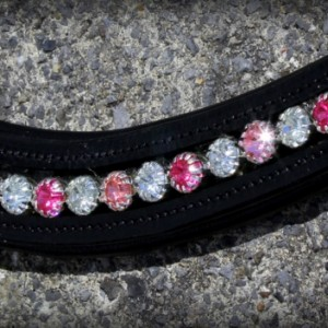 Bling Browband - Shades of Pink