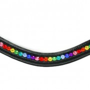 Bling Browbands Rainbow