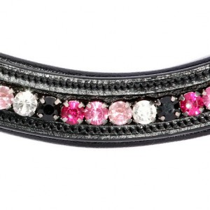 Bling Browbands Fuchsia