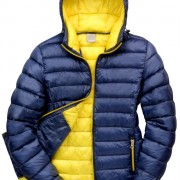 Ladies Equestrian Jacket navy_yellow