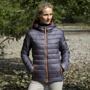 Ladies Jacket grey_orange