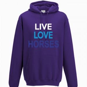 Live Love Horses Hoodie